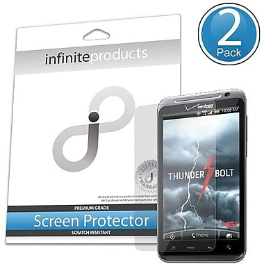 Infinite Products THBT Screen Protector For HTC ThunderBolt, Clear