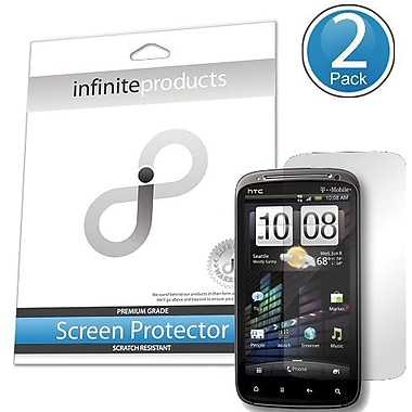 Infinite Products PYR-SP-2C Screen Protector For HTC Pyramid/Sensation, Clear