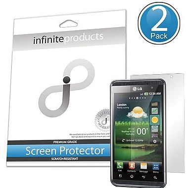 Infinite Products OPT3D-SP-2C Screen Protector For LG Optimus 3D/Thrill 4G, Clear