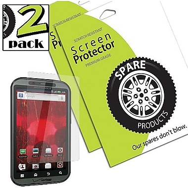Spare Products SP00063 Anti-Fingerprint Screen Protective Film For Motorola Droid Bionic, Clear