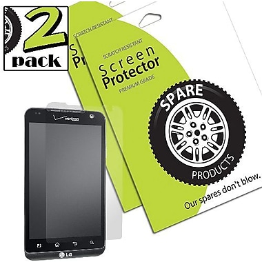 Spare Products SP00076 Screen Protector For LG Revolution, Clear