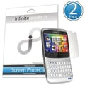 Infinite Products CHACH-SP-2C Screen Protector For HTC ChaCha Facebook Phone, Clear