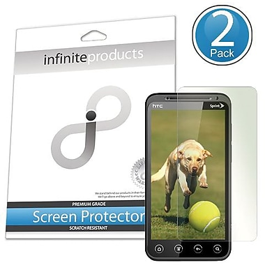 Infinite Products EVO3D Screen Protector For HTC EVO 3D, Clear