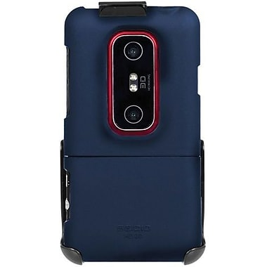 Seidio® Surface™ CSR3HEV3D Hard Case and Holster For HTC EVO 3D/HTC EVO V 4G, Sapphire Blue