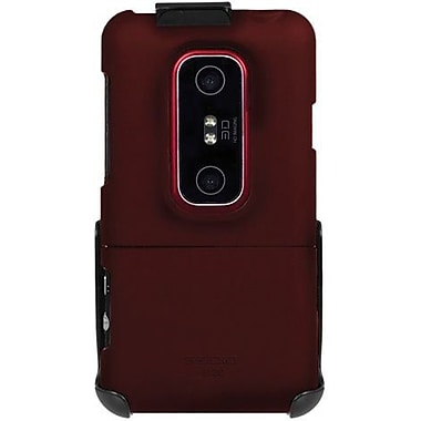 Seidio® Surface™ BD2-HR3HEV3D Hard Case and Holster For HTC EVO 3D/HTC EVO V 4G, Burgundy