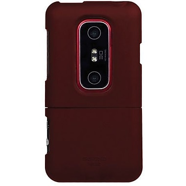 Seidio® Surface™ CSR3HEV3D Hard Case For HTC EVO 3D/HTC EVO V 4G, Burgundy
