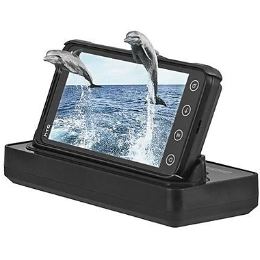 Seidio® BD3-CRDHEV3D Desktop Charging Cradle Kit For HTC EVO 3D/HTC EVO V 4G, Black
