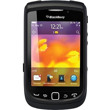 OtterBox™ 77-19355 Commuter Series Hybrid Case For BlackBerry 9800 Torch, Black