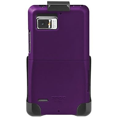 Seidio® Surface™ BD2-HR3MTBNC Hard Case and Holster For Motorola Droid Bionic, Amethyst