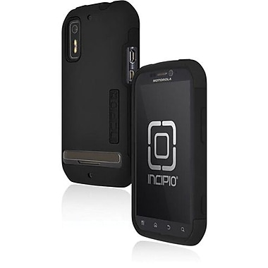 Incipio® MT-155 Silicrylic Hard Shell Case For Motorola Photon 4G/Electrify, Black/Black