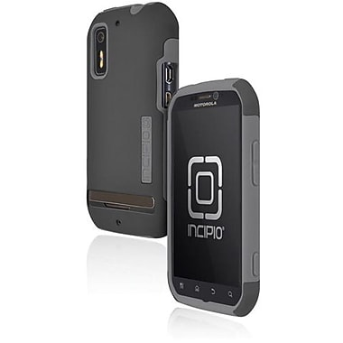 Incipio® MT-157 Silicrylic Hard Shell Case For Motorola Photon 4G/Electrify, Dark Gray/Light Gray
