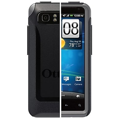 OtterBox™ 77-19008 Commuter Series Hybrid Case For HTC Vivid, HTC Raider 4G, Black/Gray