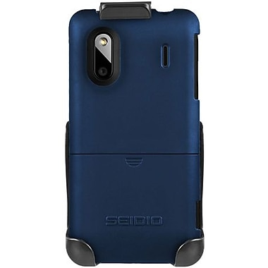 Seidio® Surface™ BD2-HR3HTKNG Hard Case and Holster For HTC Hero S/Evo Design 4G, Sapphire Blue