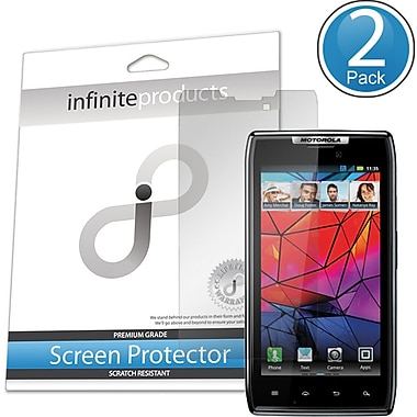 Infinite Products MDRAZ-SP VectorGuard Screen Protective Film For Motorola Droid Razr, Clear
