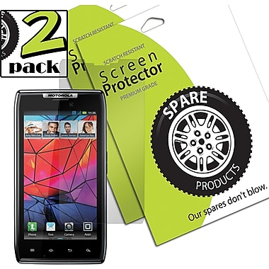 Spare Products SP00595 Anti-Glare Screen Protective Film For Motorola Droid Razr, Clear