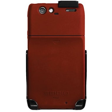 Seidio® Surface™ BD2-HR3MTRZ Hard Case and Holster For Motorola Droid Razr, Garnet Red