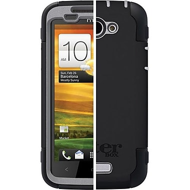 OtterBox™ 77-18976 Defender Series Hybrid Case and Holster For HTC One X, Black/Gray