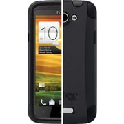 OtterBox™ 77-19010 Commuter Series Hybrid Case For HTC One X, Black