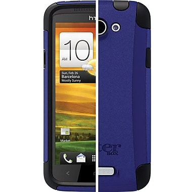 OtterBox™ 77-19012 Commuter Series Hybrid Case For HTC One X, Black/Blue