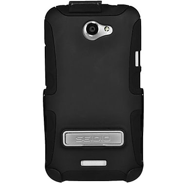 Seidio® Active® BD2-HK3HTNXLK Hybrid Case and Holster W/ Kickstand For HTC One X, Black