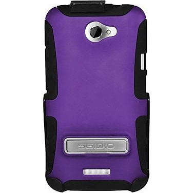 Seidio® Active® BD2-HK3HTNXLK Hybrid Case and Holster W/ Kickstand For HTC Rezound, Black