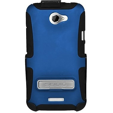 Seidio® Active® BD2-HK3HTNXLK Hybrid Case and Holster W/ Kickstand For HTC One X, Royal Blue
