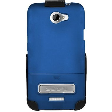 Seidio® Surface™ BD2-HR3HTNXLK Hard Case and Holster W/ Kickstand For HTC One X, Royal Blue