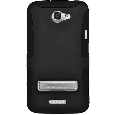 Seidio® Active® CSK3HTNXLK Hybrid Case W/ Kickstand For HTC One X, Black