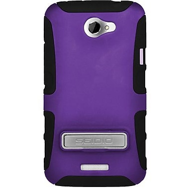 Seidio® Active® CSK3HTNXLK Hybrid Case W/ Kickstand For HTC One X, Amethyst