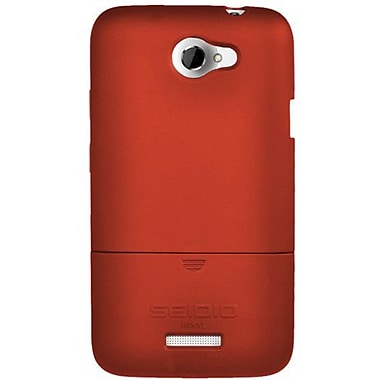 Seidio® Surface™ CSR3HTNXL Hard Case For HTC One X, Garnet Red