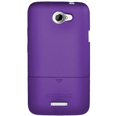 Seidio® Surface™ CSR3HTNXL Hard Case For HTC One X, Amethyst