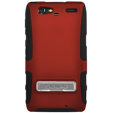 Seidio® Active® CSK3MTRMK Hybrid Case W/ Kickstand For Motorola Droid Razr Maxx, Garnet Red