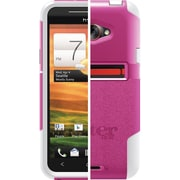 OtterBox™ 77-19752 Commuter Series Hybrid Case For HTC EVO 4G LTE, Pink/White
