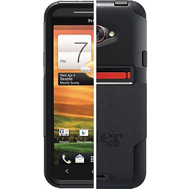 OtterBox™ 77-20042 Commuter Series Hybrid Case For HTC EVO 4G LTE, Black