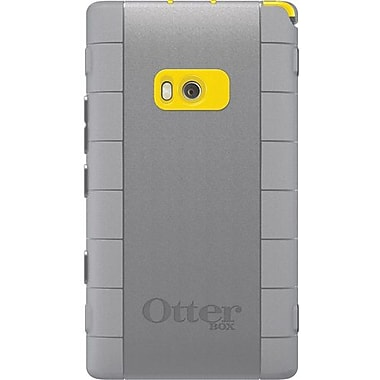 OtterBox™ 77-19661 Defender Series Hybrid Case and Holster For Nokia Lumia 900, Yellow/Gunmetal Gray