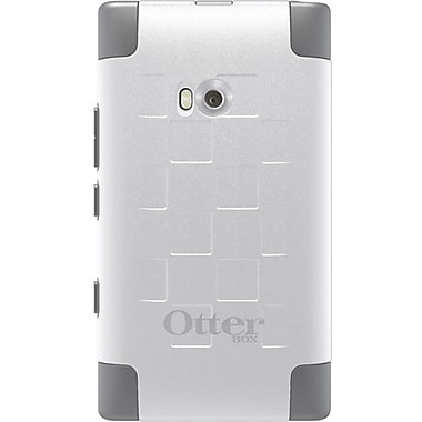 OtterBox™ 77-19663 Commuter Series Hybrid Case For Nokia Lumia 900, White/Gunmetal Gray