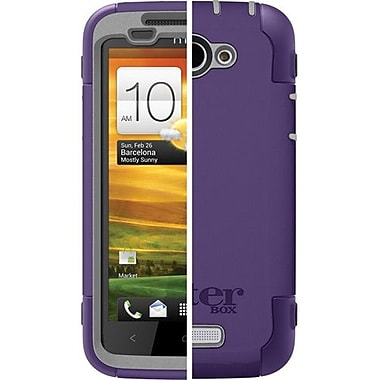 OtterBox™ 77-21742 Defender Series Hybrid Case and Holster For HTC One X, Grape/Gray