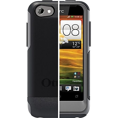 OtterBox™ 77-20724 Commuter Series Hybrid Case For HTC One V, Black/Gunmetal Gray