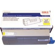 OKI – Cartouche de toner série C710, jaune (43866101)