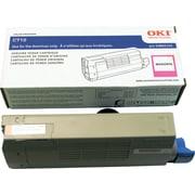 OKI – Cartouche de toner série C710, magenta (43866102)