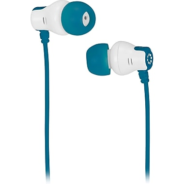 Memorex™ CB25 In-Ear Color Earbuds, Teal
