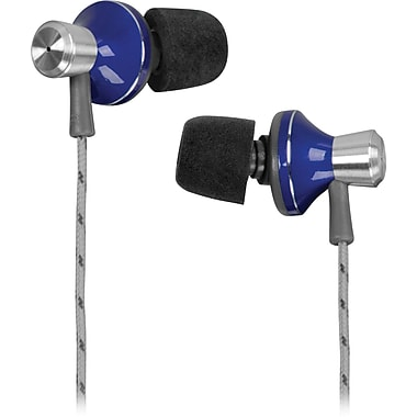 Memorex™ IE400 In-Ear Headphones, Blue