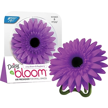 Bright Air Daisy in Bloom Air Freshener, Juicy Bloom & Raspberry