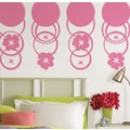 WallPops Flirt Pink Dots & Hooplah Stripe