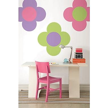 WallPops Pink Flirt, Purple Perk & Oh Pear Dot Wall Decals