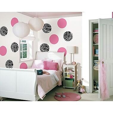 WallPops Go Wild & Flirt Pink Dots
