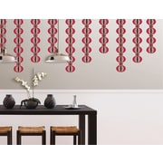WallPops Loopy Red Stripe Pack