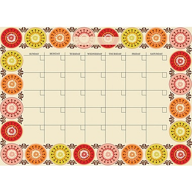 Wall Pops Carnivale Dry Erase Calendar and Message Board