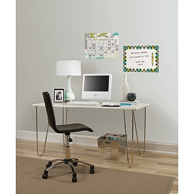 WallPops Habitat Dry Erase Calendar and Message Board Set