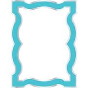 WallPops Blue Enamel Dry-Erase Board